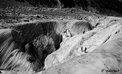 crevasses!!! (jphilippevuillermet) Tags: mer de glacier chamonix crevasse glace alpinisme