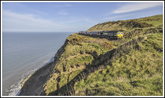 Close to Oblivion (Jim the Joker) Tags: train railway northsea freight generalmotors freightliner class66 huntscliff 66510 boulbycarlinhow