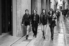 4x4 (Ron Scubadiver's Wild Life) Tags: barcelona street woman girl outdoors spain nikon candid style ramblas 24120
