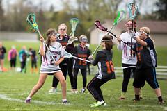 Mayla 5/6 Black vs Grand Rapids (kaiakegleysportsmom) Tags: lucy spring minneapolis girlpower lacrosse 56 2016 mayla blackteam vsgrandrapids mayla5617 mayla5626