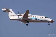 Private --- Piaggio P-180 Avanti --- LZ-ASP (Drinu C) Tags: plane private aircraft aviation sony dsc piaggio mla bizjet privatejet avanti p180 lmml hx100v lzasp adrianciliaphotography