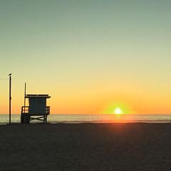 To Your Left (thejcgerm) Tags: ocean california venice sunset beach losangeles lifeguard pacificocean beaches venicebeach lifeguardtower