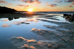 Sennen Cove Sunset (midlander1231) Tags: sunset nature landscape cornwall shoreline shore sennencove seascpae