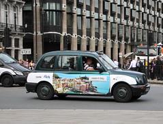 LTI TXi London Taxi in Expo Italia livery (Ian Press Photography) Tags: london cars car italia carriage expo cab taxi transport taxis international cabbie cabs txi livery lti