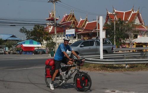 auf den letzten km nach Bangkok
