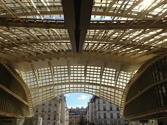Canope du Forum des Halles (FloDL) Tags: light paris architecture lumire canopy verrire forumdeshalles canope patrickberger jacquesanziutti
