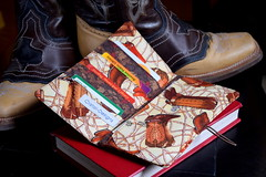 TEXAS wallet (Cristali Designs) Tags: texas boots designer handmade wallet sewing crafts country creative style blogger fabric clutch folded etsy tutorial manualidades costura billetera bifold cristalidesigns