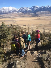 Clean air kids on hogback