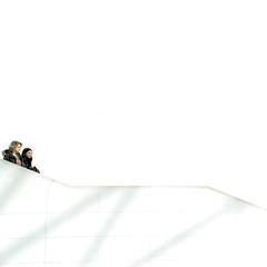 everything's gonna be allwhite... (bonnevillekid) Tags: london candid staircase bm