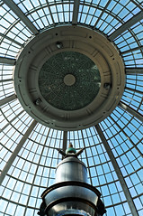 Atrium (Poocher7) Tags: windows roof sky ontario canada lines architecture mall niagarafalls design waterfountain atrium futuristic fallsviewcasino electrodes