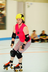 080 (Bawdy Czech) Tags: city oregon lava track dolls flat bend or jo dirty skate roller april skater anonymous derby 2016 lcrd overbeaters