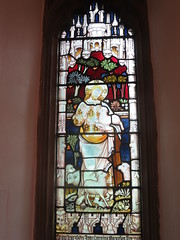The Parish Church of St Mary the Virgin, Shenfiledl, Essex: stained glass window (John Steedman) Tags: uk greatbritain england church window unitedkingdom stainedglass stmary essex stainedglasswindow shenfield grossbritannien    grandebretagne parishchurchofstmarythevirgin
