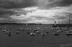 Erquy (SegundoReal) Tags: sea mer france port puerto mar nikon barcos bretagne bn francia bretaa erquy d7000