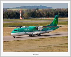 EI-FAT Aer Lingus ATR-72 (flatfoot471) Tags: scotland airport edinburgh unitedkingdom aircraft airline normal aerlingus civilian lothian atr 2015 edinburghairport atr72600