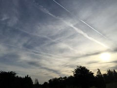 Crazy World of Chemtrails - WTF - South Western Ireland - April 2016 (firehouse.ie) Tags: sky weather control sinister newworldorder engineering manipulation spray conspiracy hazing chemtrail aerosol population geo chemicals climate chemtrails spraying obscuring manipulating haarp nanoparticles geoengineering skyobscuring