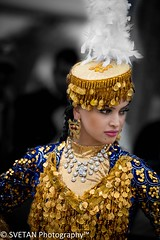 UZBEK DANCER II (RUSSIANTEXAN) Tags: portrait girl festival photography dance nikon asia central houston silkroad ethnic uzbekistan anvar khodzhaev svetan d800e