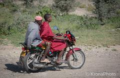 Bikers (KronaPhoto) Tags: africa people men tanzania drive african moped masai kjre mennesker kjrety