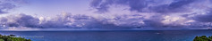 Twilight Clouds over the Sea Panorama (Amazing Sky Photography) Tags: ocean sunset clouds twilight pacific australia nsw acr hdr smokycape