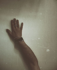 Searching (marcus.greco) Tags: selfportrait abstract hand surreal conceptual scratch searching trama