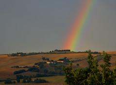 Arcobaleno sulle colline marchigiane (giorgiorodano46) Tags: italien italy arcoiris countryside rainbow september hills campagna italie marche regenbogen colline arcenciel 2015 monterado settembre2015 giorgiorodano