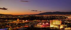 Last Vegas Sunset (Emmanuel Pampuri) Tags: sunset sky clouds hotel lasvegas nevada wynn encore circuscircus