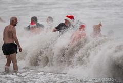 New Years Day Swin on Bray Beach... (Tony Brierton) Tags: swimming waves newyearsday braybeach 1116 newyearswim16