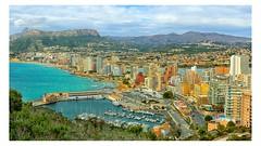 City of Calpe (SergMo Cutler) Tags: costa spain cityscape alicante blanca calpe penyal difac