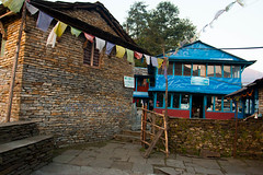 Almost Ghandruk (Pooja Pant) Tags: nepal mountains beautiful trek abc annapurna annapurnabasecamp macchapuchre