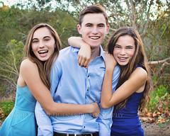 Brothers sister brother models siblings teen teenager laughter tween