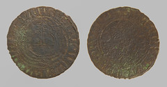 Rose Orb Jetton 16th Century (2007) (Ks Ed) Tags: relic artifact metal detecting detector jetton norfolk historic historical england dug excavated find nuremberg 2007