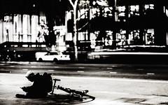 Los Angeles Youth Story II (Ko Zushi Photography) Tags: street city shadow blackandwhite black blur art youth photography 50mm lights la losangeles solitude artist noiretblanc streetphotography fim cinematic lacma imperfection longexposue