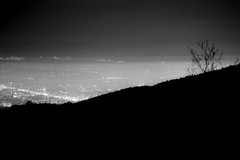 Skopje (Custom Illusion) Tags: city panorama white black film monochrome lights nikon 300mm macedonia 100 pan f3 nikkor ilford skopje vodno ilfordpan100 filmisnotdead film:brand=ilford film:iso=100 developer:brand=adox adoxadonal film:name=ilfordpan100 developer:name=adoxadonal filmdev:recipe=10573