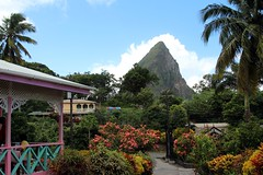 Lunch with a view (Prayitno / Thank you for (11 millions +) views) Tags: st spectacular mom lunch island tour view place outdoor peak location lucia piton caribbean stlucia herods konomark