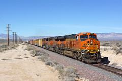 BNSF 6907 Bissell,Mojave C.A (Gridboy56) Tags: railroad usa america train gm diesel trains mojave locomotive railways freight bnsf locomotives emd bissel 6907 7076 7189 railfreight