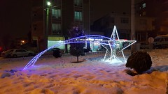 Adnan Kahveci Caddesi Kavşak Işıklandırma Çalışması (Kayan Yıldız)