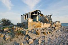 кр50 (a_salnikova) Tags: sea cloud abandoned beach landscape crimea крым mirniy