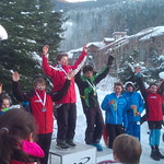 Whistler Teck U14 SL - Tait Jordan 1st; Lukas Forssander 2nd; Alexander Katrusiak 3rd; PHOTO CREDIT: Steele Jordan