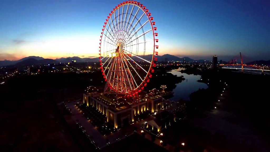 Mặt trời Sun Wheel ở Đà Nẵng