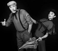 Brando y Silvana.