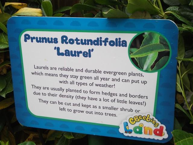 CBeebies Land - Information Sign