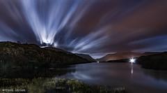 Lunar Lightshow (Paul Sivyer) Tags: llanberis snowdonia llynpadarn paulsivyer wildwalesdotcom