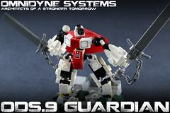 ODS.9 Guardian (-=Steebles=-) Tags: lego micro mecha mech moc drone lrgo droneuary