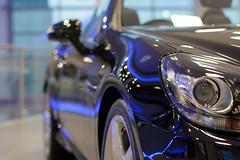 SLK at Mercedes World (Rich Lukey) Tags: world 50mm mercedes benz nikon brooklands slk