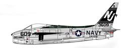 FJ-4B Fury (Ricos 2015) Tags: airplane military north american fury fj4