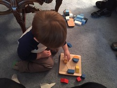 """Paul Plays with His Fractions Puzzle • <a style=""""font-size:0.8em;"""" href=""""http://www.flickr.com/photos/109120354@N07/24529420080/"""" target=""""_blank"""">View on Flickr</a>"""