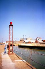 Simon port 02 (The original SimonB) Tags: film port suffolk july scanned 1991 felixstowe