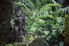 Protector of the woods (frisch-luft.ch) Tags: bali stone indonesia jungle rotten grunged
