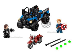 Toy Fair 2016 LEGO Marvel Captain America Civil War Black Panther Pursuit 5 (IdleHandsBlog) Tags: toys lego civilwar captainamerica marvelcomics buildingsets marvelstudios toyfair2016