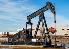Colorado oil & gas fields (Dejan Smaic) Tags: colorado industrial harleydavidson oil oilfield oilwell pumpjack drillrig weldcounty oilandgas dacono djbasin