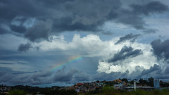 Weather Report (Toms Kim) Tags: city light brazil urban cloud weather brasil rainbow highway cityscape saopaulo sony fe 558 a7m2 fe55mm